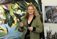 Workshop instructor Sharon Quirke. MA, BA